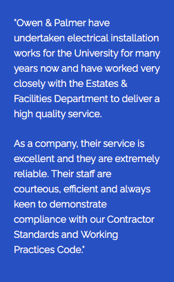 Testimonial from Andrew Easter Building Services Engineer