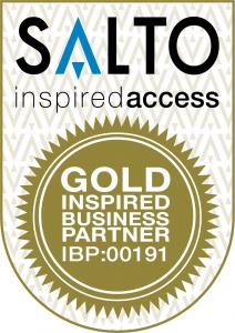 SALTO Inspired Access Gold Business Partner Logo